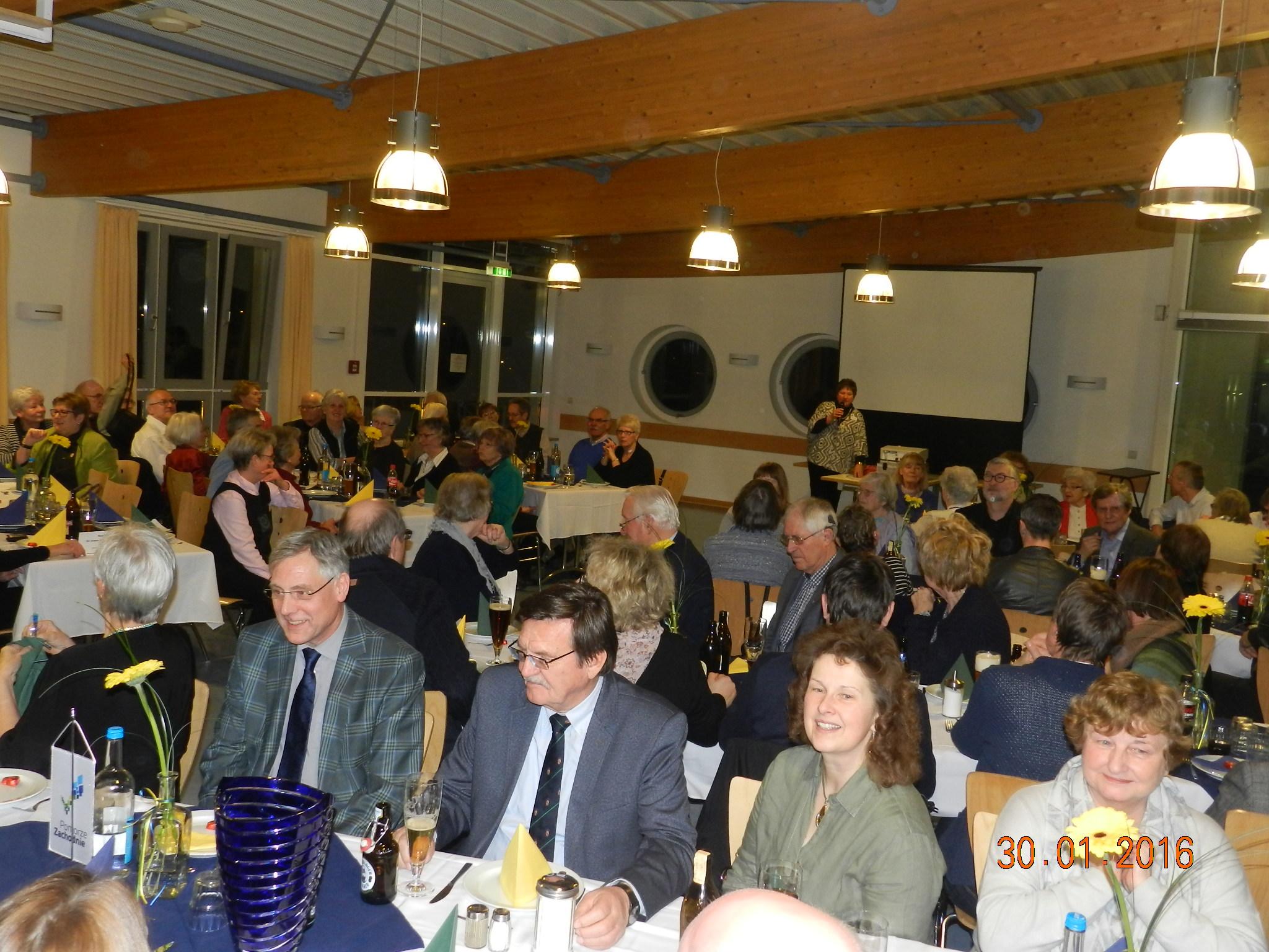 Uroczysta kolacja przyjaciół i członków DJH w Lubece