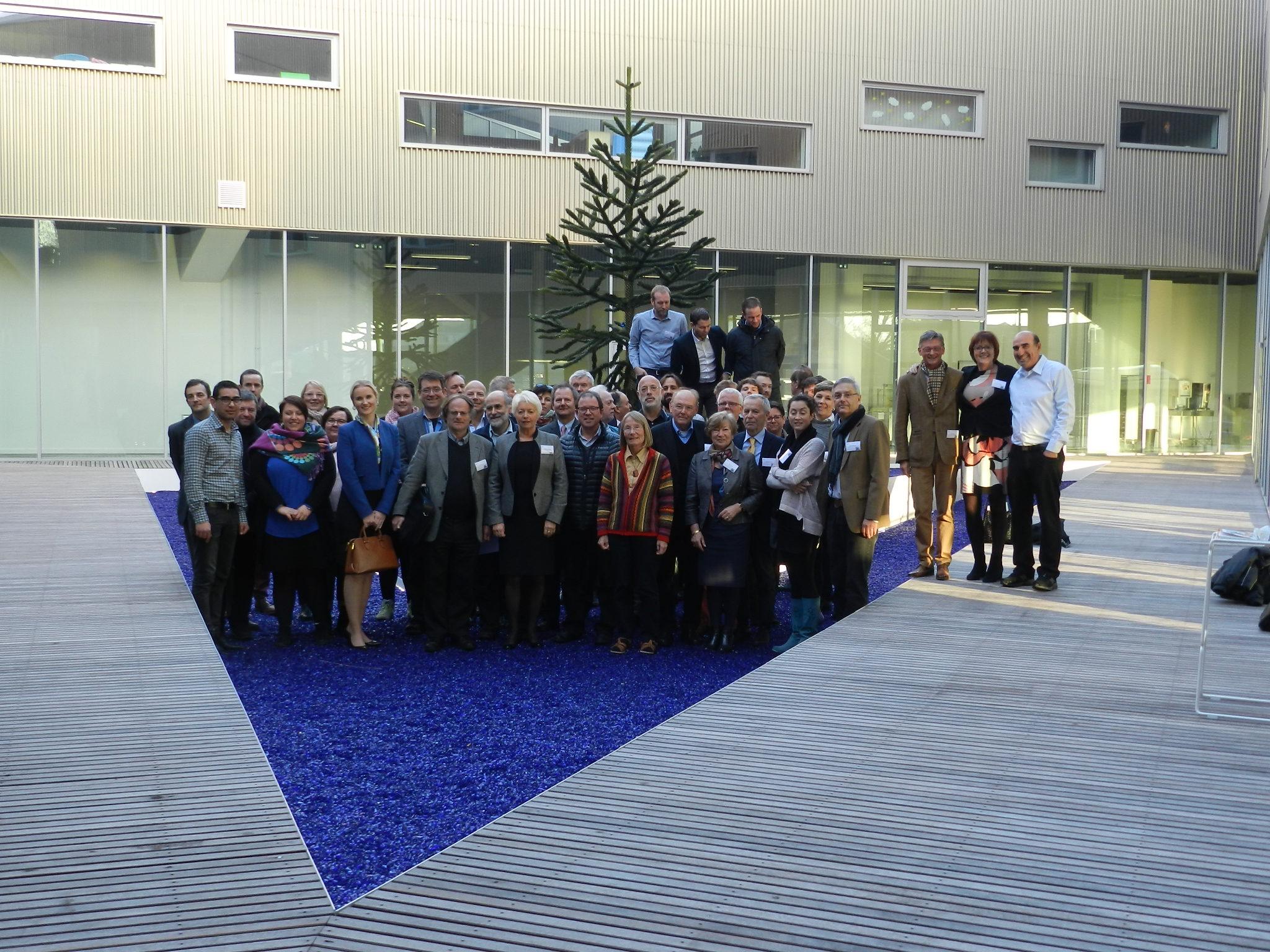 Uczestnicy konferencji w Lille.