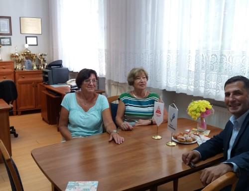 Spotkanie przedstawicieli OZ PTSM z dyrekcją Zespołu Szkół oraz schroniska w Koszalinie