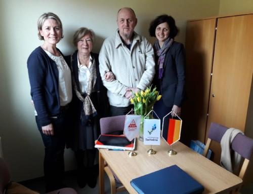 Spotkanie dotyczące współpracy DJH i PTSM w Ueckermunde