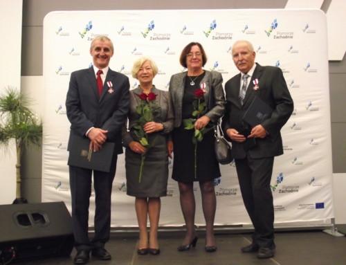 Honorowe odznaczenia Gryfa Pomorskiego dla naszych działaczy