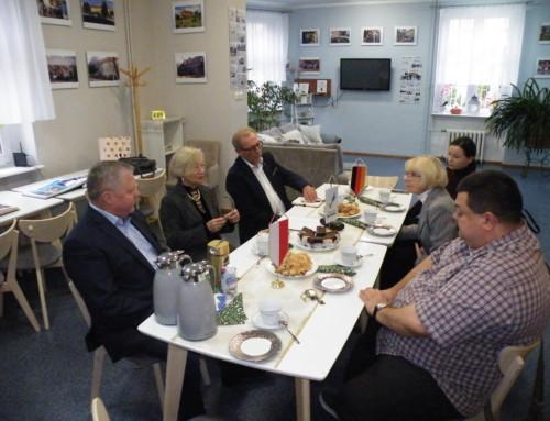 Wizyta prezydenta i przewodniczącego Zarządu Niemieckich Schronisk Młodzieżowych w Berlinie Brandenburgii.