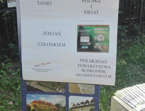 Udział społeczników OZ PTSM w dwudniowej imprezie turystycznej pn. organizowanej wspólnie z  Centrum Informacji Turystycznej Szmaragdowe-Zdroje